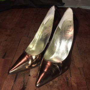 Guess Bronze High Heels